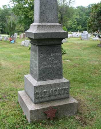 CLEMENTS, JOHN - Portage County, Ohio | JOHN CLEMENTS - Ohio Gravestone Photos