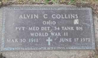 COLLINS, ALVIN C - Portage County, Ohio | ALVIN C COLLINS - Ohio Gravestone Photos