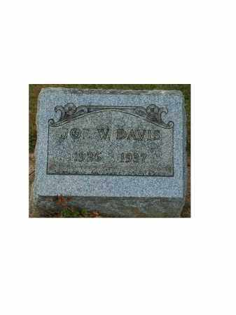 DAVIS, JOE W. - Portage County, Ohio | JOE W. DAVIS - Ohio Gravestone Photos