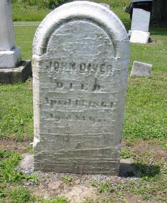 DIVER, JOHN - Portage County, Ohio   JOHN DIVER - Ohio Gravestone Photos