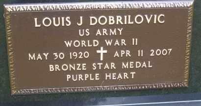 DOBRILOVIC, LOUIS J - Portage County, Ohio | LOUIS J DOBRILOVIC - Ohio Gravestone Photos