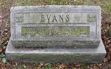 EVANS, GEORGINA - Portage County, Ohio   GEORGINA EVANS - Ohio Gravestone Photos