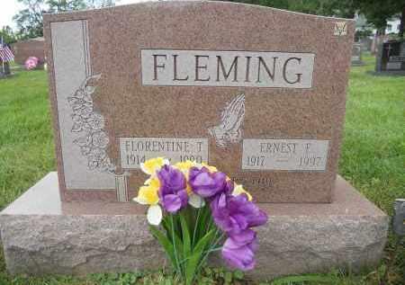 FLEMING, FLORENTINE T - Portage County, Ohio | FLORENTINE T FLEMING - Ohio Gravestone Photos
