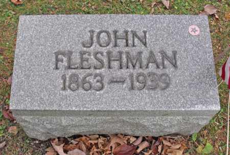 FLESHMAN, JOHN - Portage County, Ohio | JOHN FLESHMAN - Ohio Gravestone Photos