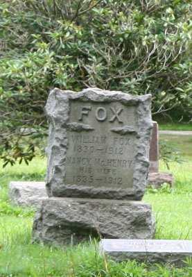 MCHENRY FOX, NANCY - Portage County, Ohio | NANCY MCHENRY FOX - Ohio Gravestone Photos