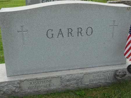 GARRO, JOSEPHINE - Portage County, Ohio | JOSEPHINE GARRO - Ohio Gravestone Photos