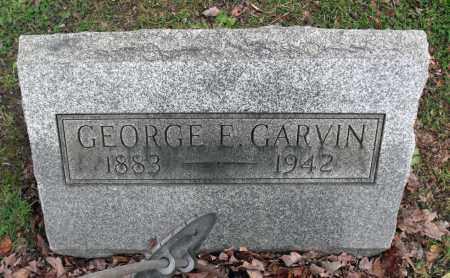 GARVIN, GEORGE E. - Portage County, Ohio | GEORGE E. GARVIN - Ohio Gravestone Photos