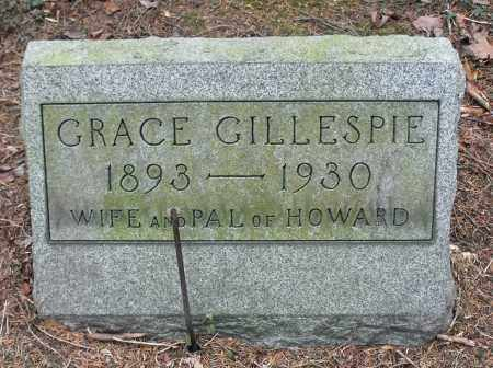 GILLESPIE, GRACE - Portage County, Ohio | GRACE GILLESPIE - Ohio Gravestone Photos