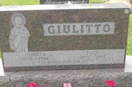 GIULITTO, CARMELA - Portage County, Ohio | CARMELA GIULITTO - Ohio Gravestone Photos