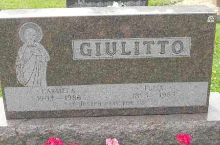 GIULITTO, FELIX - Portage County, Ohio   FELIX GIULITTO - Ohio Gravestone Photos
