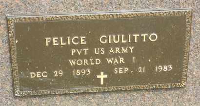 GIULITTO, FELICE - Portage County, Ohio | FELICE GIULITTO - Ohio Gravestone Photos
