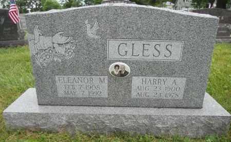 GLESS, ELEANOR M - Portage County, Ohio | ELEANOR M GLESS - Ohio Gravestone Photos