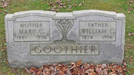 GOOTHIER, WILLIAM C. - Portage County, Ohio | WILLIAM C. GOOTHIER - Ohio Gravestone Photos