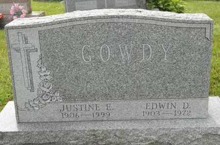 GOWDY, JUSTINE E - Portage County, Ohio   JUSTINE E GOWDY - Ohio Gravestone Photos