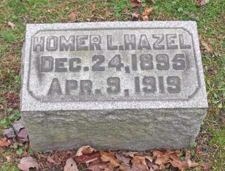 HAZEL, HOMER L. - Portage County, Ohio | HOMER L. HAZEL - Ohio Gravestone Photos