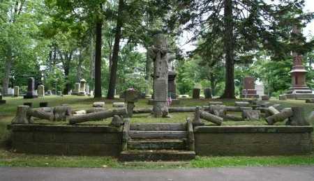 HOLCOMB, FAMILY MONUMENT - Portage County, Ohio | FAMILY MONUMENT HOLCOMB - Ohio Gravestone Photos