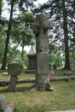 HOLCOMB, WANZER - Portage County, Ohio | WANZER HOLCOMB - Ohio Gravestone Photos