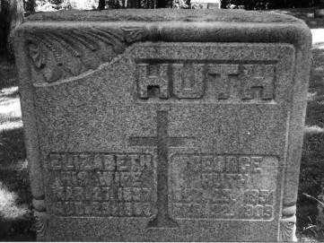 HUTH, ELIZABETH - Portage County, Ohio | ELIZABETH HUTH - Ohio Gravestone Photos