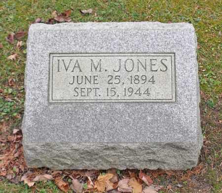 HAZEL JONES, IVA MAY - Portage County, Ohio   IVA MAY HAZEL JONES - Ohio Gravestone Photos