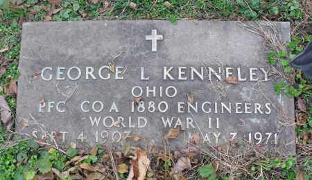 KENNELEY, GEORGE L. - Portage County, Ohio | GEORGE L. KENNELEY - Ohio Gravestone Photos