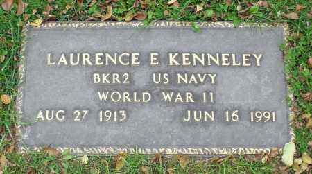 KENNELEY, LAURENCE E. - Portage County, Ohio | LAURENCE E. KENNELEY - Ohio Gravestone Photos
