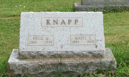 KNAPP, FRED - Portage County, Ohio   FRED KNAPP - Ohio Gravestone Photos