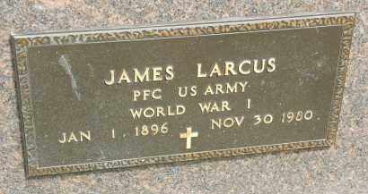 LARCUS, JAMES - Portage County, Ohio | JAMES LARCUS - Ohio Gravestone Photos