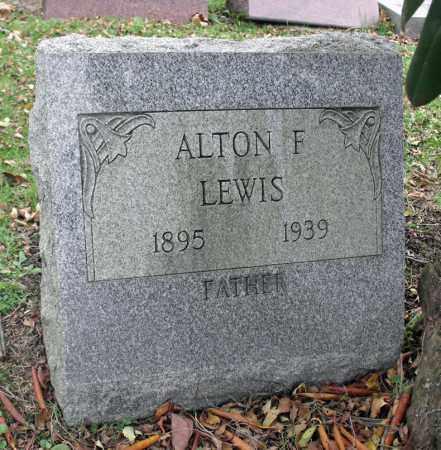 LEWIS, ALTON F. - Portage County, Ohio | ALTON F. LEWIS - Ohio Gravestone Photos