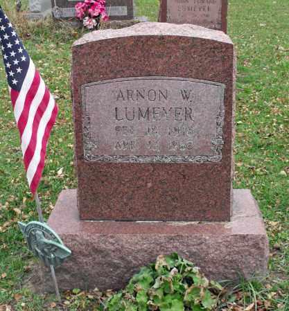 LUMEYER, ARNON W. - Portage County, Ohio | ARNON W. LUMEYER - Ohio Gravestone Photos