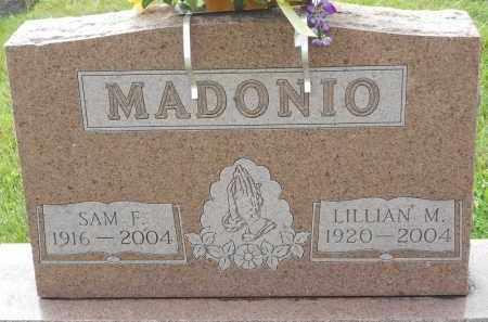 MADONIO, LILLIAN M - Portage County, Ohio   LILLIAN M MADONIO - Ohio Gravestone Photos