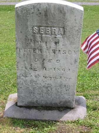 MASON, SEBRA - Portage County, Ohio | SEBRA MASON - Ohio Gravestone Photos