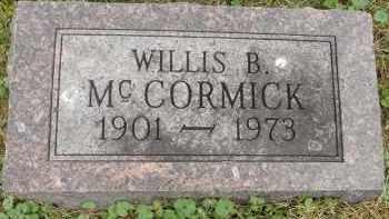 MCCORMICK, WILLIS B - Portage County, Ohio   WILLIS B MCCORMICK - Ohio Gravestone Photos