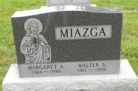 MIAZGA, WALTER S - Portage County, Ohio   WALTER S MIAZGA - Ohio Gravestone Photos