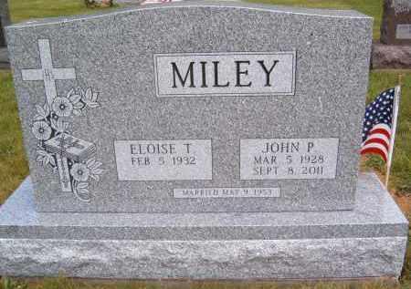 MILEY, JOHN P - Portage County, Ohio   JOHN P MILEY - Ohio Gravestone Photos