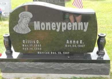 MONEYPENNY, RILLIS O - Portage County, Ohio | RILLIS O MONEYPENNY - Ohio Gravestone Photos
