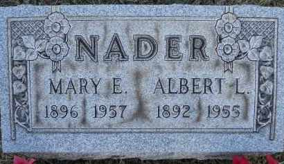 NADER, ALBERT L - Portage County, Ohio | ALBERT L NADER - Ohio Gravestone Photos