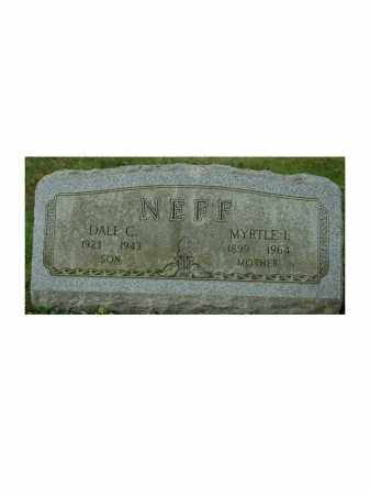 NEFF, DALE C. - Portage County, Ohio | DALE C. NEFF - Ohio Gravestone Photos