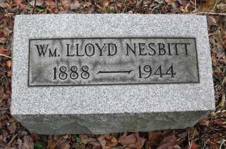 NESBITT, WILLIAM LLOYD - Portage County, Ohio   WILLIAM LLOYD NESBITT - Ohio Gravestone Photos