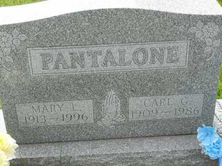 PANTALONE, MARY L - Portage County, Ohio   MARY L PANTALONE - Ohio Gravestone Photos