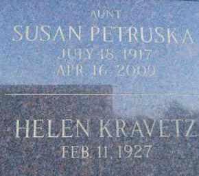 MAYHER PETRUSKA, SUSAN - Portage County, Ohio | SUSAN MAYHER PETRUSKA - Ohio Gravestone Photos
