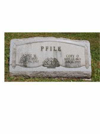 PFILE, CORY O. - Portage County, Ohio | CORY O. PFILE - Ohio Gravestone Photos