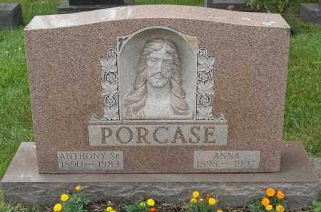 PORCASE, ANNA - Portage County, Ohio   ANNA PORCASE - Ohio Gravestone Photos