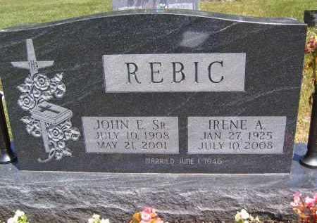 REBIC, JOHN E - Portage County, Ohio | JOHN E REBIC - Ohio Gravestone Photos