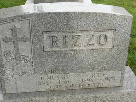 RIZZO, DOMENICK - Portage County, Ohio | DOMENICK RIZZO - Ohio Gravestone Photos