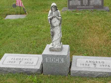 ROCK, FLORENCE - Portage County, Ohio   FLORENCE ROCK - Ohio Gravestone Photos