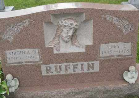RUFFIN, VIRGINIA B - Portage County, Ohio | VIRGINIA B RUFFIN - Ohio Gravestone Photos
