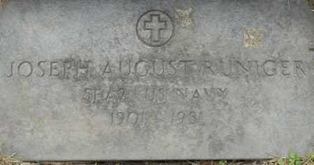 RUNIGER, JOSEPH AUGUST - Portage County, Ohio | JOSEPH AUGUST RUNIGER - Ohio Gravestone Photos