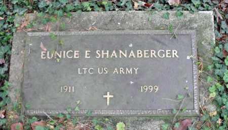 SHANABERGER, EUNICE E. - Portage County, Ohio | EUNICE E. SHANABERGER - Ohio Gravestone Photos