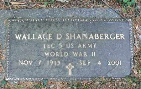 SHANABERGER, WALLACE DARBY - Portage County, Ohio | WALLACE DARBY SHANABERGER - Ohio Gravestone Photos