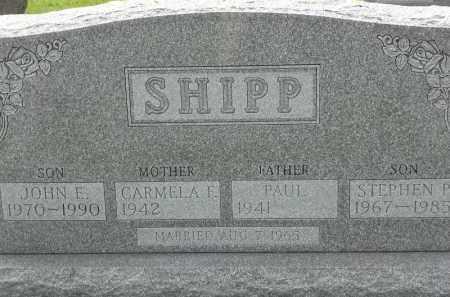 SHIPP, JOHN E - Portage County, Ohio | JOHN E SHIPP - Ohio Gravestone Photos
